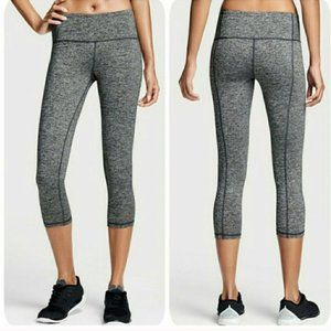 VSX SPORT Heather Gray Knockout Capri Leggings M